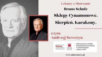 Bruno Schulz - Sklepy Cynamonowe - Andrzej Seweryn
