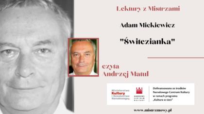 Adam Mickiewicz - Świtezianka
